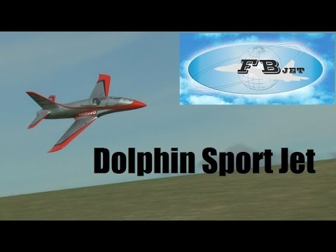 NEW Feibao DOLPHIN sports jet Pilot: Colin Strauss