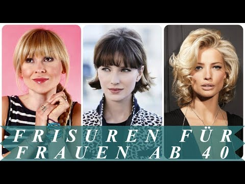 Verjungende Frisuren Fur Frauen Ab 40 2018 Youtube