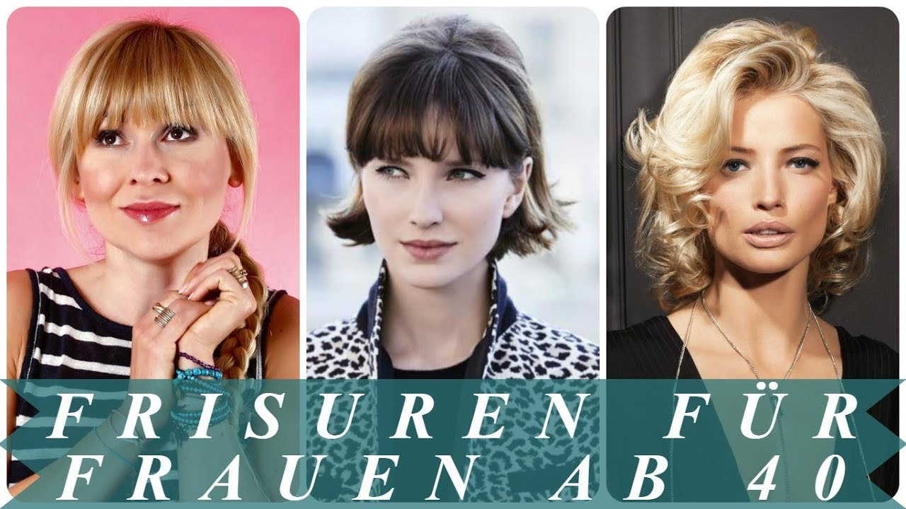 Verjungende Frisuren Fur Frauen Ab 40 2018 Youtube