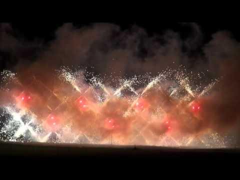Fireworks at Butchart Gardens 2015