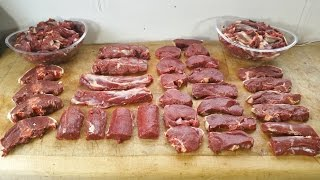 How To Butcher A Deer. A Roe Deer. TheScottReaProject.