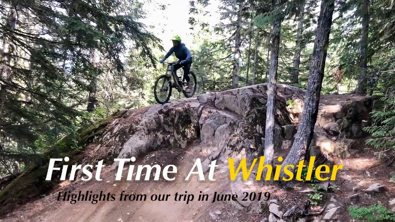 Mountain Biking the Fitzsimmons Zone at Whistler