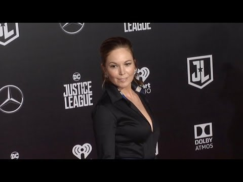 Diane Lane at Justice League Los Angeles Film premiere
