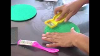 Cómo elaborar textura toalla en foamy (goma eva)