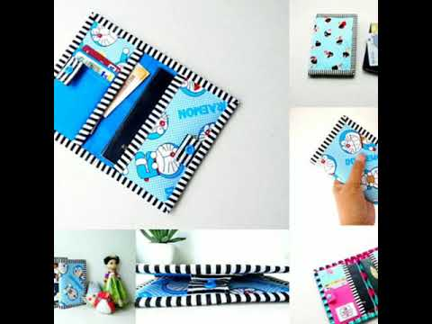 DIY Passport Cover With Card Slot Pattern