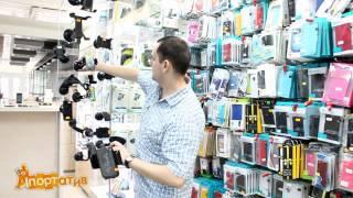 видео автомобильные держатели для смартфонов
