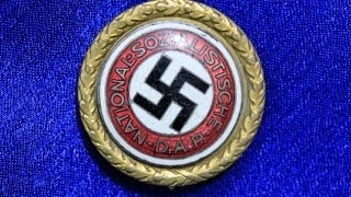 WW2 German Gold Party Badge