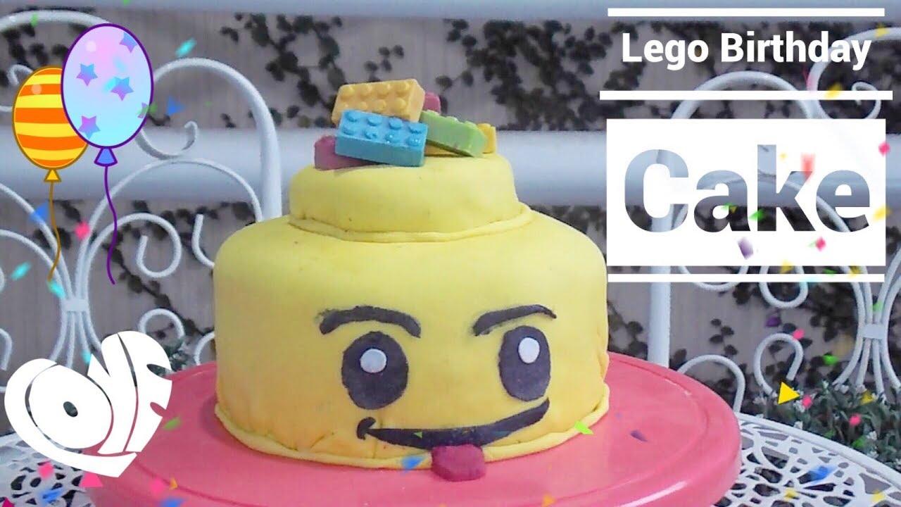 Lego Birthday Cake Yummy Cute How to make Epi 5