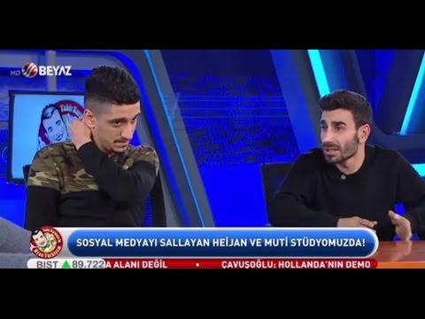 Heijan ve Muti BeyazTV ye Çıktılar(5.3.2017)