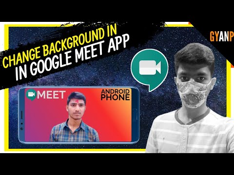 Google Meet backgrounds on Web and Android get more interesting