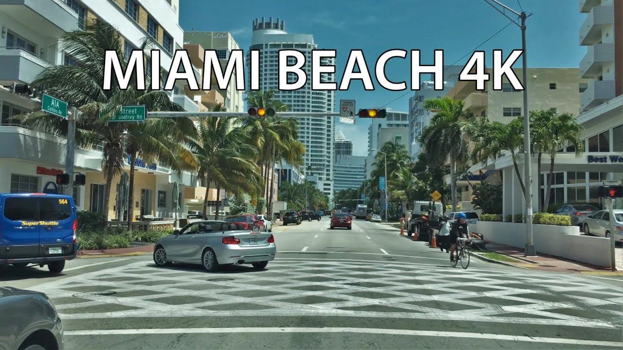 Collins Ave Miami Beach Florida  Usa