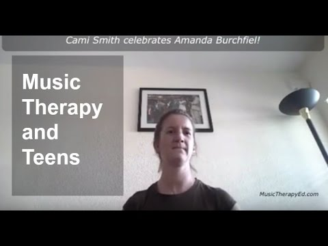 Music therapy & teens: Here are some ideas Cami put into place from the course