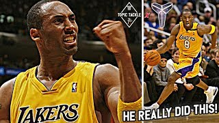 Are These the Two MOST IMPRESSIVE Scoring Streaks Ever? Kobe Bryant 40 & 50 Point Streaks