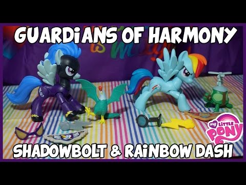 My Little Pony - Rainbow Dash & Shadowbolt - Guardians Of Harmony - Opening/Review