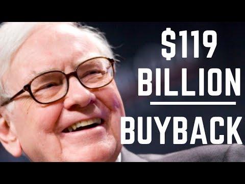 BERKSHIRE STOCK UP THANKS TO BUYBACKS! BUFFETT CRAZY? Mp3