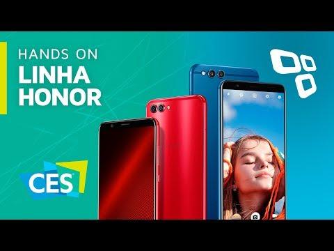 Honor 7X e View 10 os novos intermediários da Huawei - CES 2018 - TecMundo