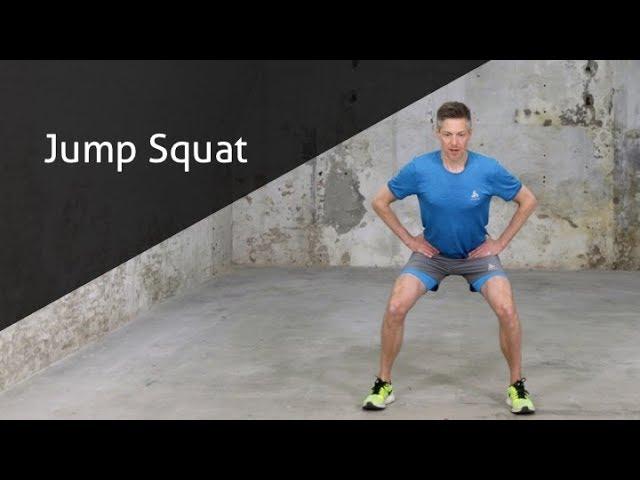 Jump Squat - hoe voer ik deze oefening goed uit?