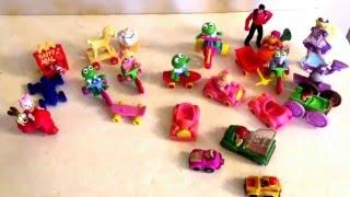 Vintage McDonald's Toy Lot Disney Muppets Ronald