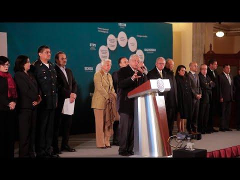 Plan Conjunto del Gobierno de México para Combatir el Robo de Hidrocarburos de Pemex