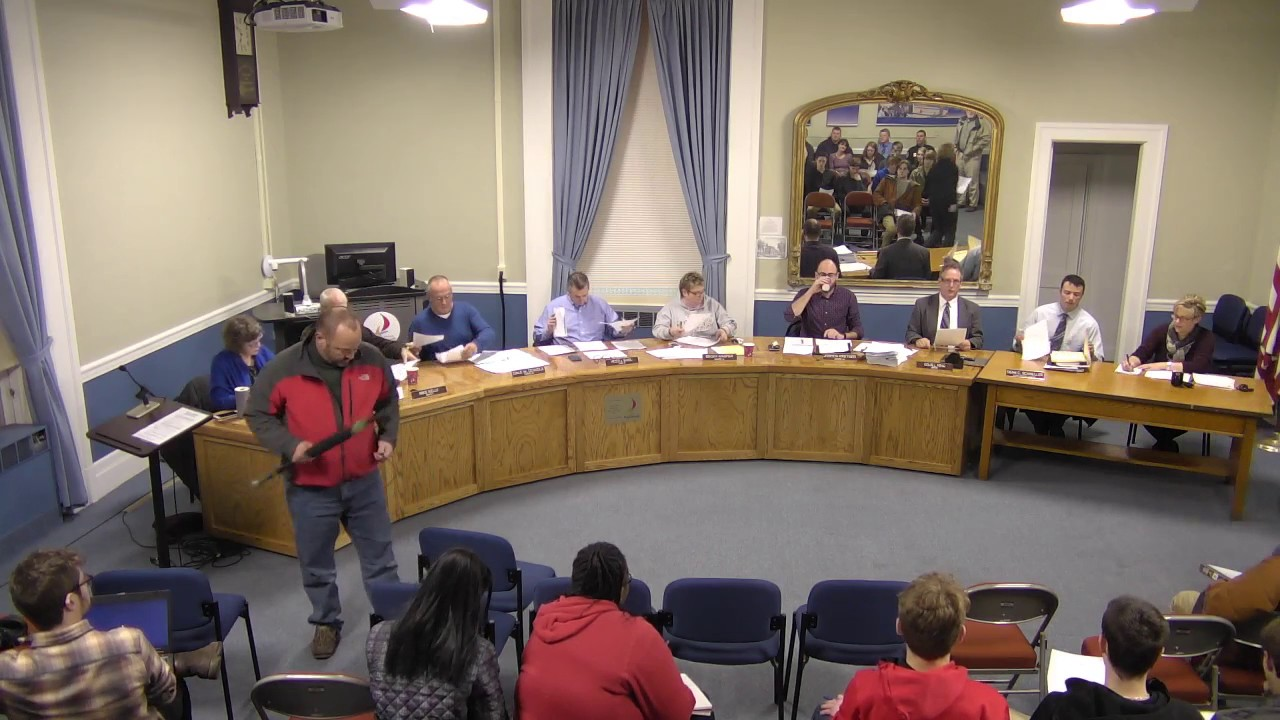 City of Plattsburgh, NY Common Council Meeting 01/12/2017