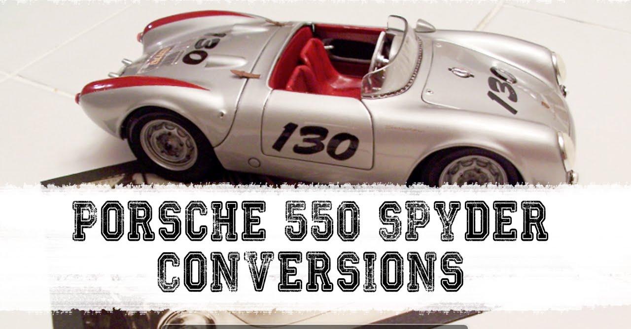 1 18 Custom Maisto 550 Spyder Conversions Project Slideshow Youtube