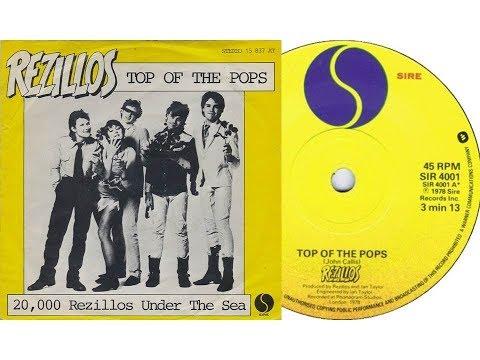 The Rezillos - Top of the Pops (On Screen Lyrics)