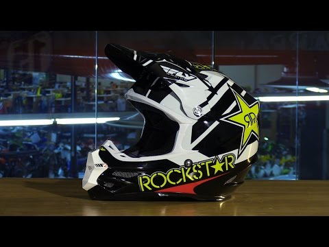 Fly Racing F2 Carbon Rockstar Motorcycle Helmet Review