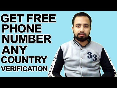 How To Get A Phone Number For Free Of Any Country For Any Call Verification