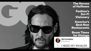 Keanu Reeves' Photographs In GQ Are One Big Thirst Trap For Twitter