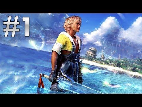 El mejor juego de la Historia   Final Fantasy X Remaster HD #1 Let's Play en español