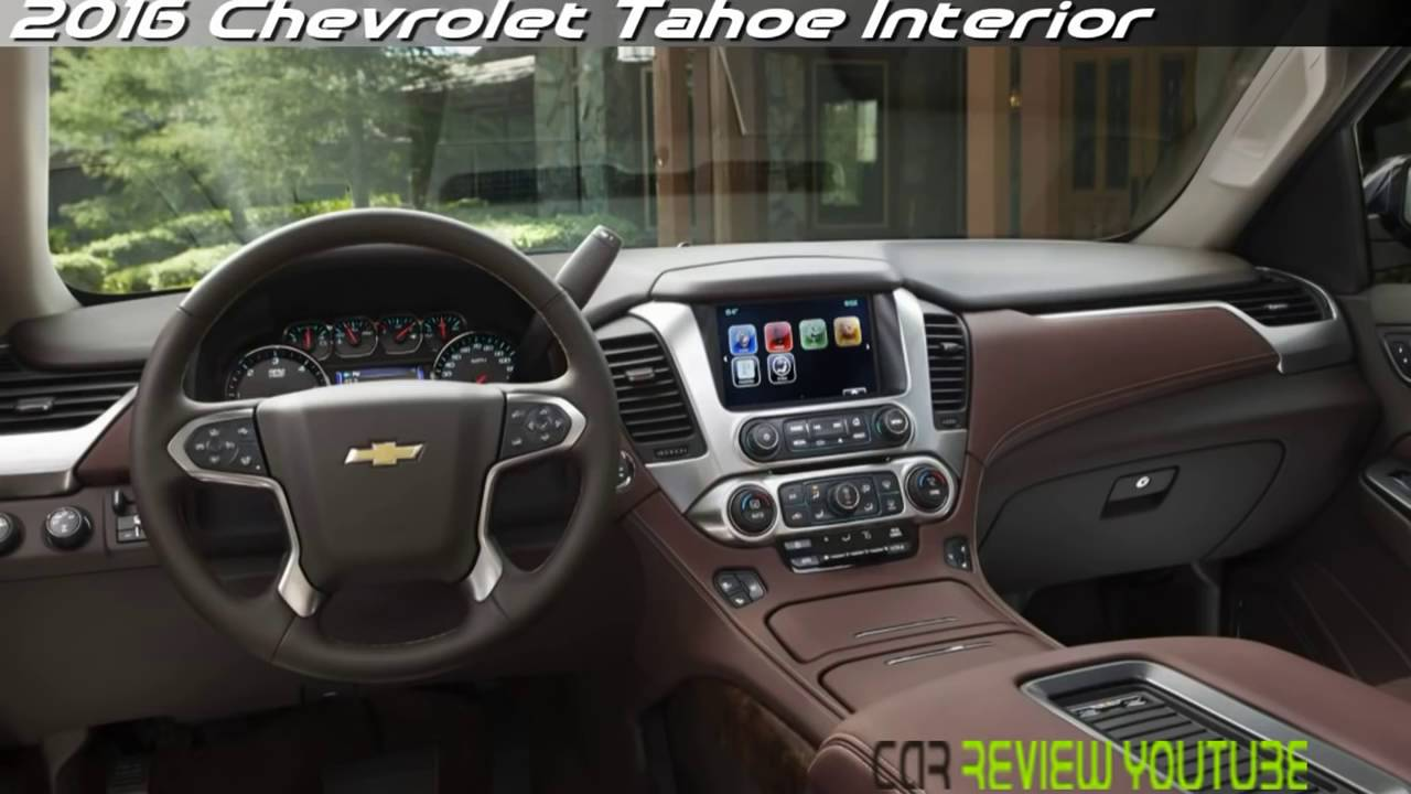 2017 Chevrolet Tahoe Youtube