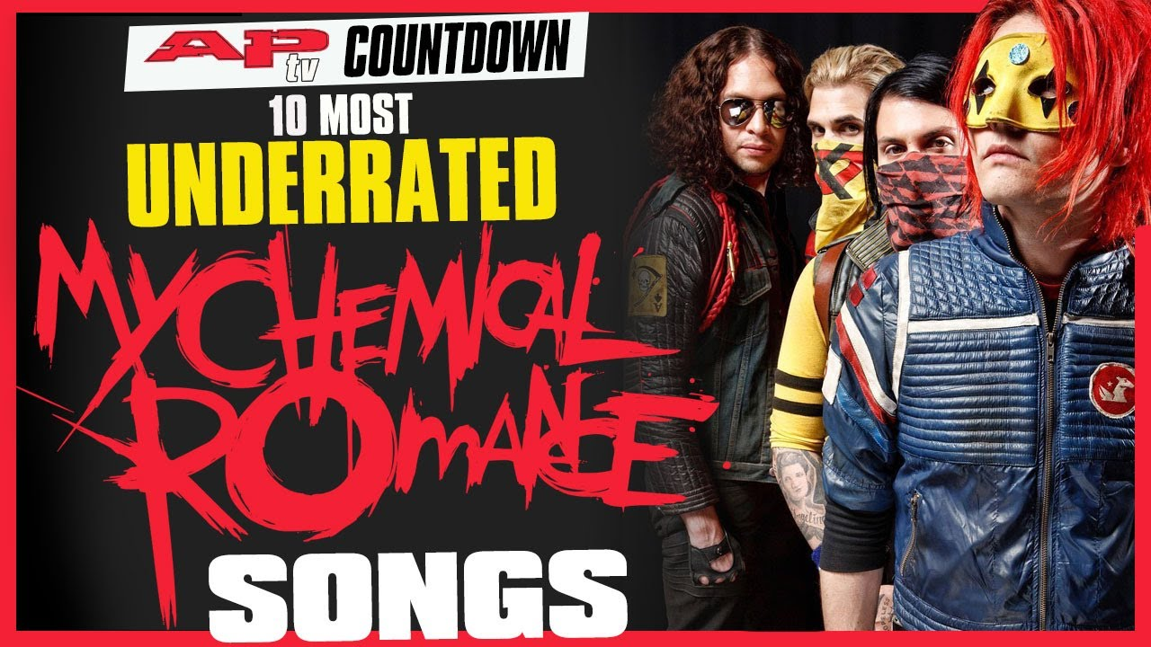 10 Most UNDERRATED My Chemical Romance Songs