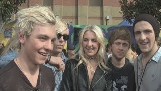 R5 interview: The band talk selfies at the Nickelodeon Kids