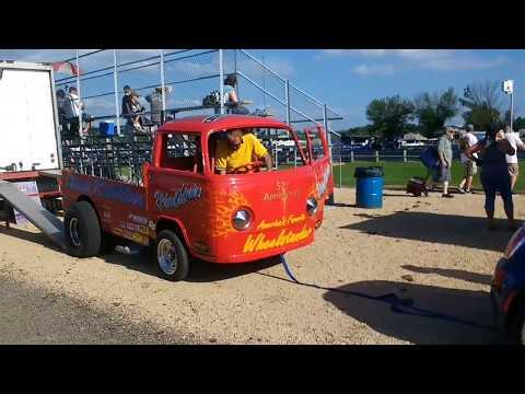 Night of Fire 2018 at Eddyville Raceway Park (INSANE CRASH)