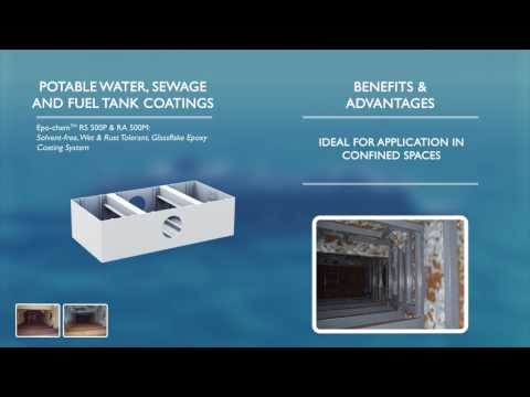 Potable Water, Sewage & Fuel Tank Coatings