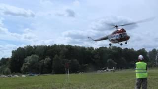 Вертослёт 2015. Вертолётные гонки. Ми-2 отжигает