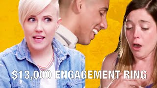 $13,000 ENGAGEMENT RING REVEAL!