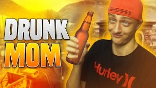 Becoming A Drunk Mom! w/Face Cam - Black Ops 2