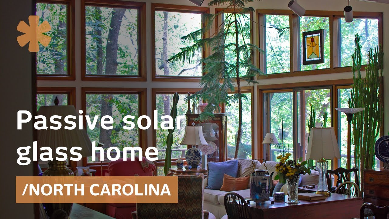 passive solar glass home feng shui in north carolina youtube