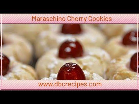 Maraschino Cherry Cookies Go On Treat Yourself