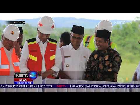 Presiden Jokowi Resmikan Proyek Pembangunan Tol Banda Aceh   Sigil   NET24