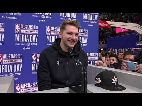 Luka Doncic's Full Media Day Availability