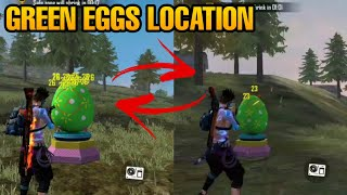 How To collect Green eggs- free fire new Event