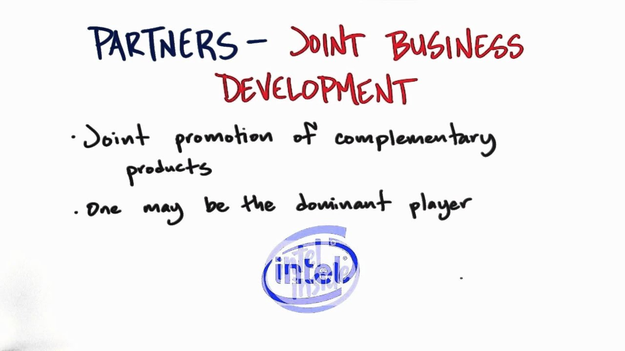 Joint Business Development - How to Build a Startup