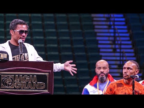 Manny Pacquiao vs. Keith Thurman POST FIGHT PRESS CONFERENCE | Las Vegas Boxing
