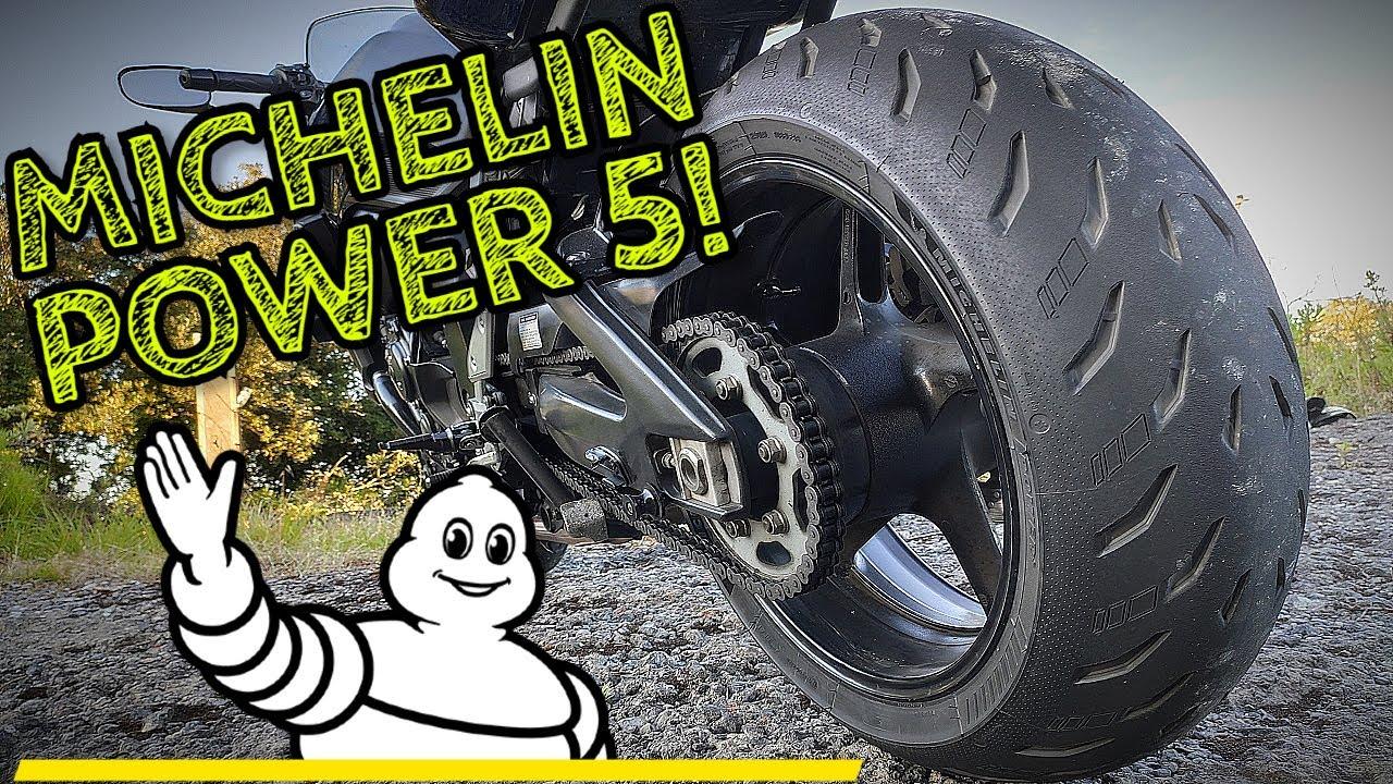Probando las nuevas Michelin Power 5 - Primeras sensaciones