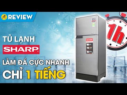 Tủ lạnh Sharp Inverter 165 lít: làm đá nhanh chỉ 1 tiếng (SJ-X196E-DSS) • Điện máy XANH
