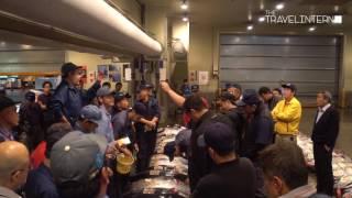 Tuna Auction at Osaka Central Fish Market (大阪市中央卸売市場) | The Travel Intern
