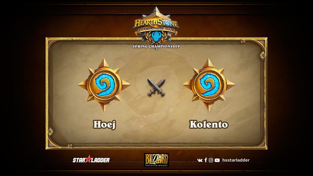 Hoej vs Kolento, Grand Final, Hearthstone Championship Tour Spring 2017