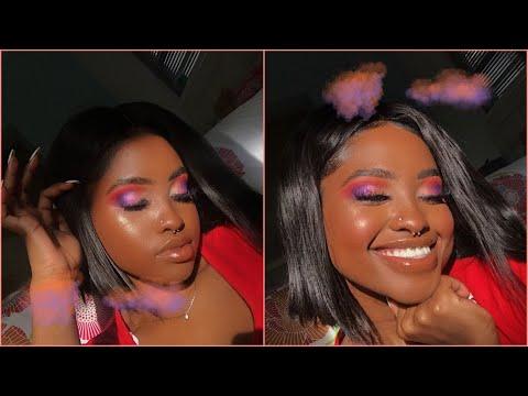 🌞🌺Spring Sunset Makeup Tutorial 🌺🌞 thumbnail